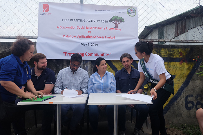 Copy of Contract Signing with the Environmental Sanitation Center of Muntinlupa